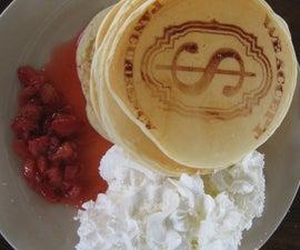 Pancake Mod - Screen printing / laser etching pancakes