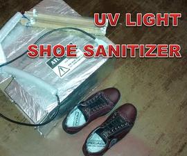 UV Shoe Sanitizer Box