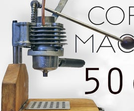 Italian Espresso Machine From Engine Parts • How to Make It
