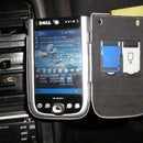 Car PDA mount from Sugar free Altoids tin (inside Aluminum case)