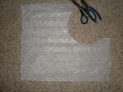 Open Up Furnace Filter, Cut to Size.