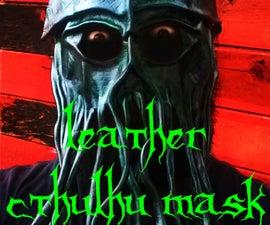 Leather Cthulhu mask