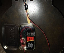 Arduino Steel Target Impact Sensor