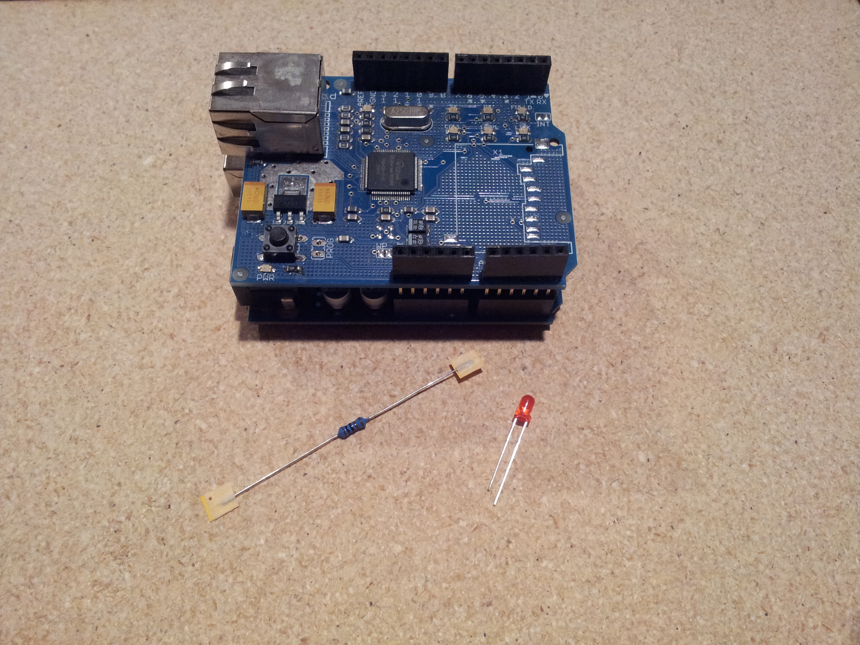 Picture of Add Status LED to Arduino