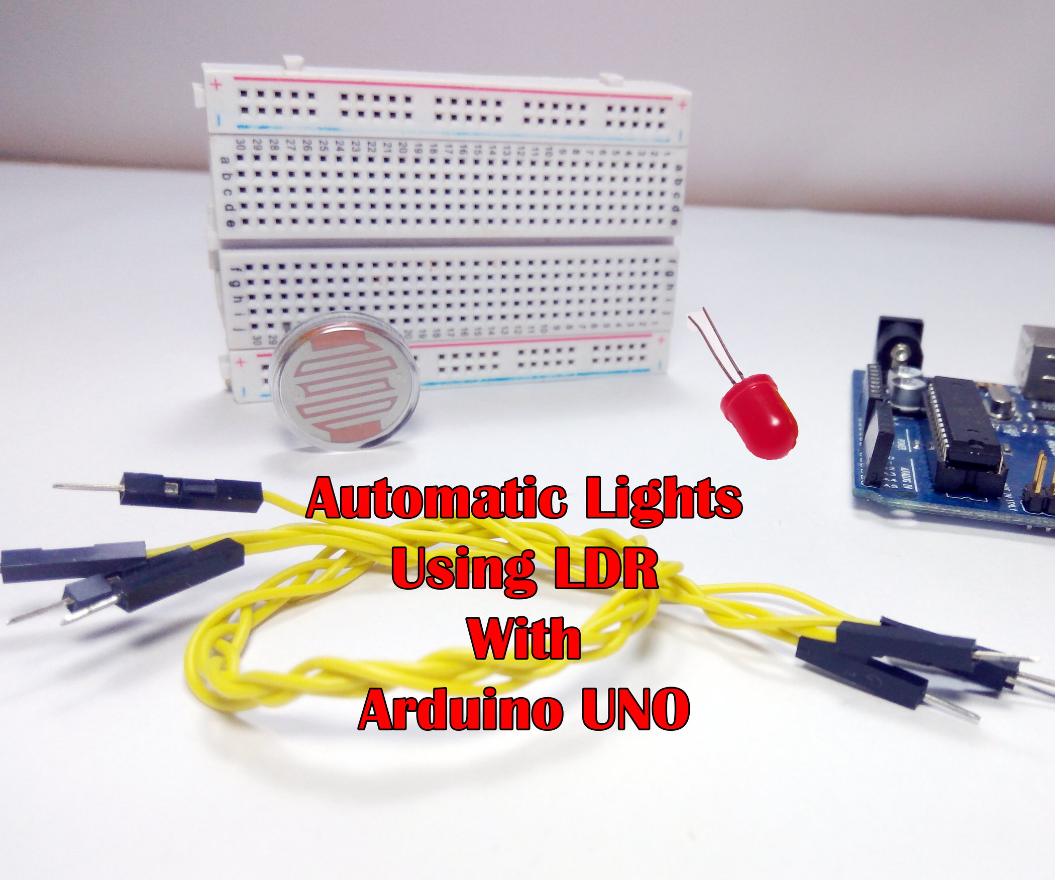 Automatic Lights Using Ldr Brightness Control 5 Steps With Pictures Picture Of Switching Street By And Relay