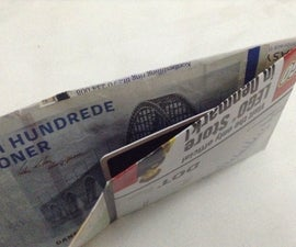 Camouflaged Map Money Wallet