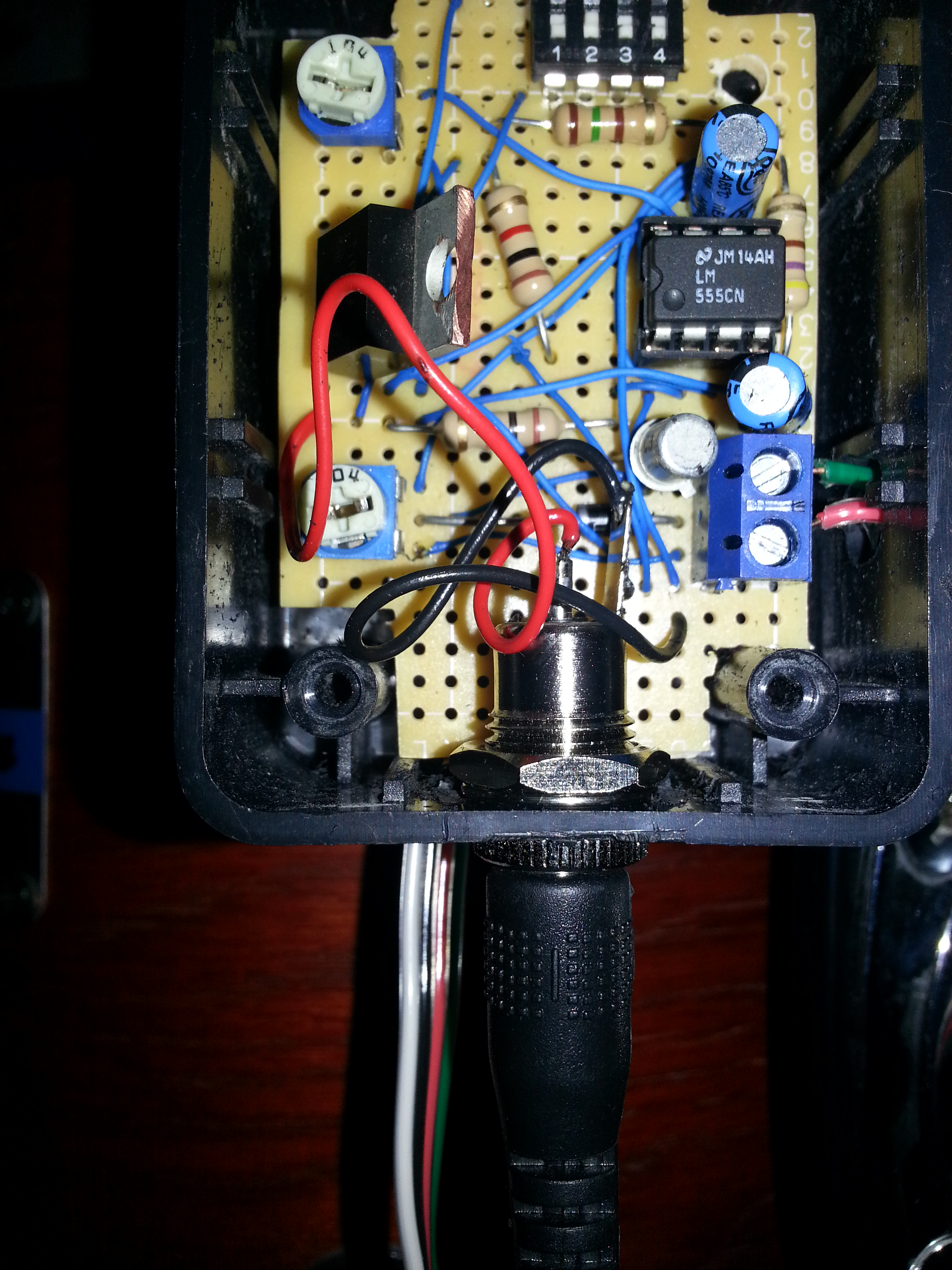 Picture of Mount Your Circuit and Wire It Up