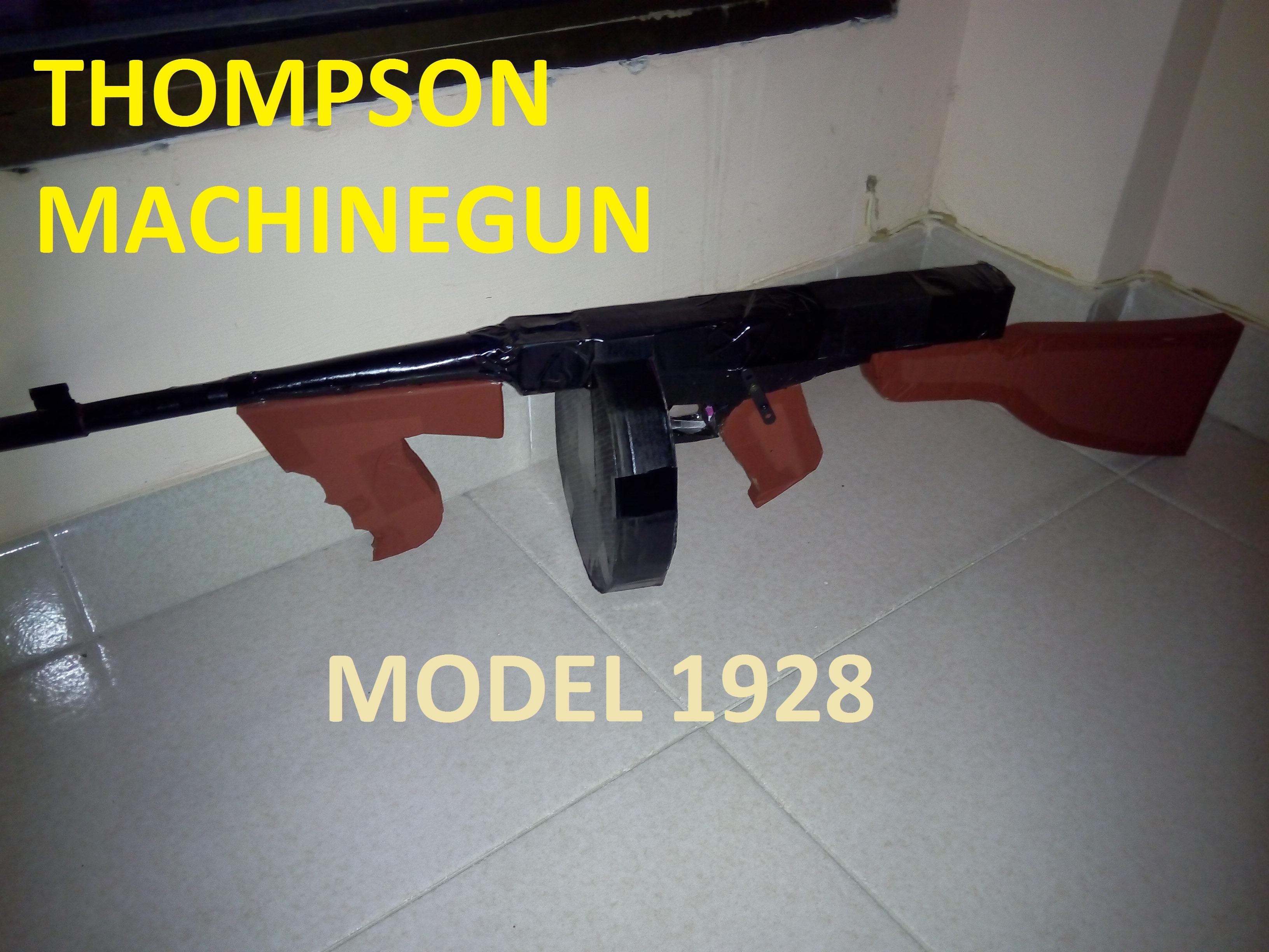 Picture of Thompson Machinegun (Tommy Gun) for Atrezzo
