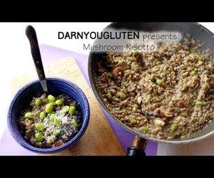1 Pot Mushroom Risotto (GF)