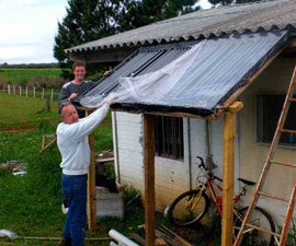Cheap and Easy Passive Solar Water Heater for your Home. ($300)