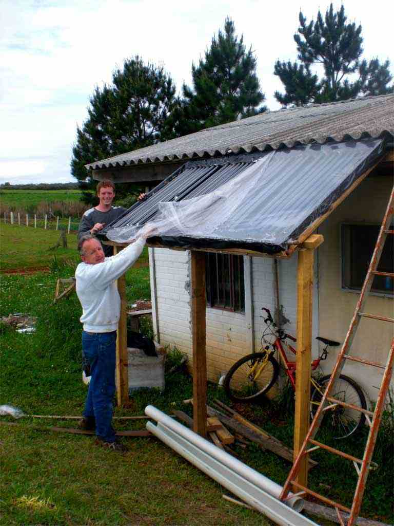 Cheap And Easy Passive Solar Water Heater For Your Home