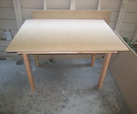 An Outdoor Project Desk on the Cheap