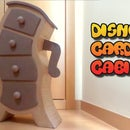DIY Disney cabinet, cardboard furnitures