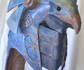 Animatronic Stargate helmet