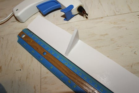 Measuring, Cutting, and Gluing the Brackets