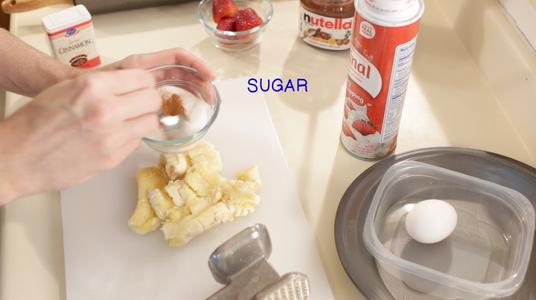 Add Cinnamon to Sugar