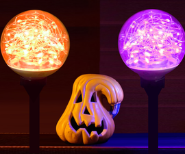 Make G25 FAIRY Light BULBs for Halloween
