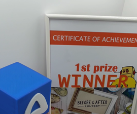 Instructables Medal & Physical Certificate for ALL Contest Winners