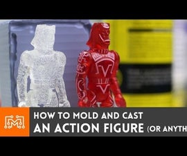 How to mold and cast an action figure (or anything else)