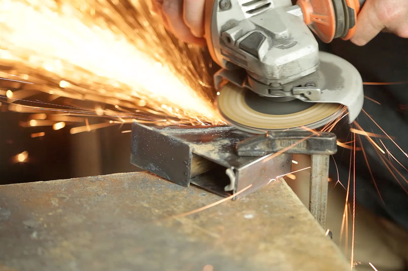 Picture of Welding the Foot