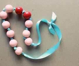 Gumball Necklace Gift Idea