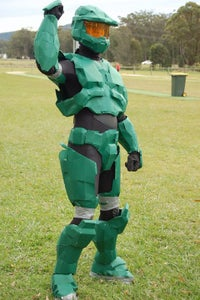 How to Make a Low-cost Master Chief Costume