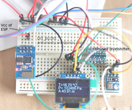 Adding the BMP180 to the ESP8266