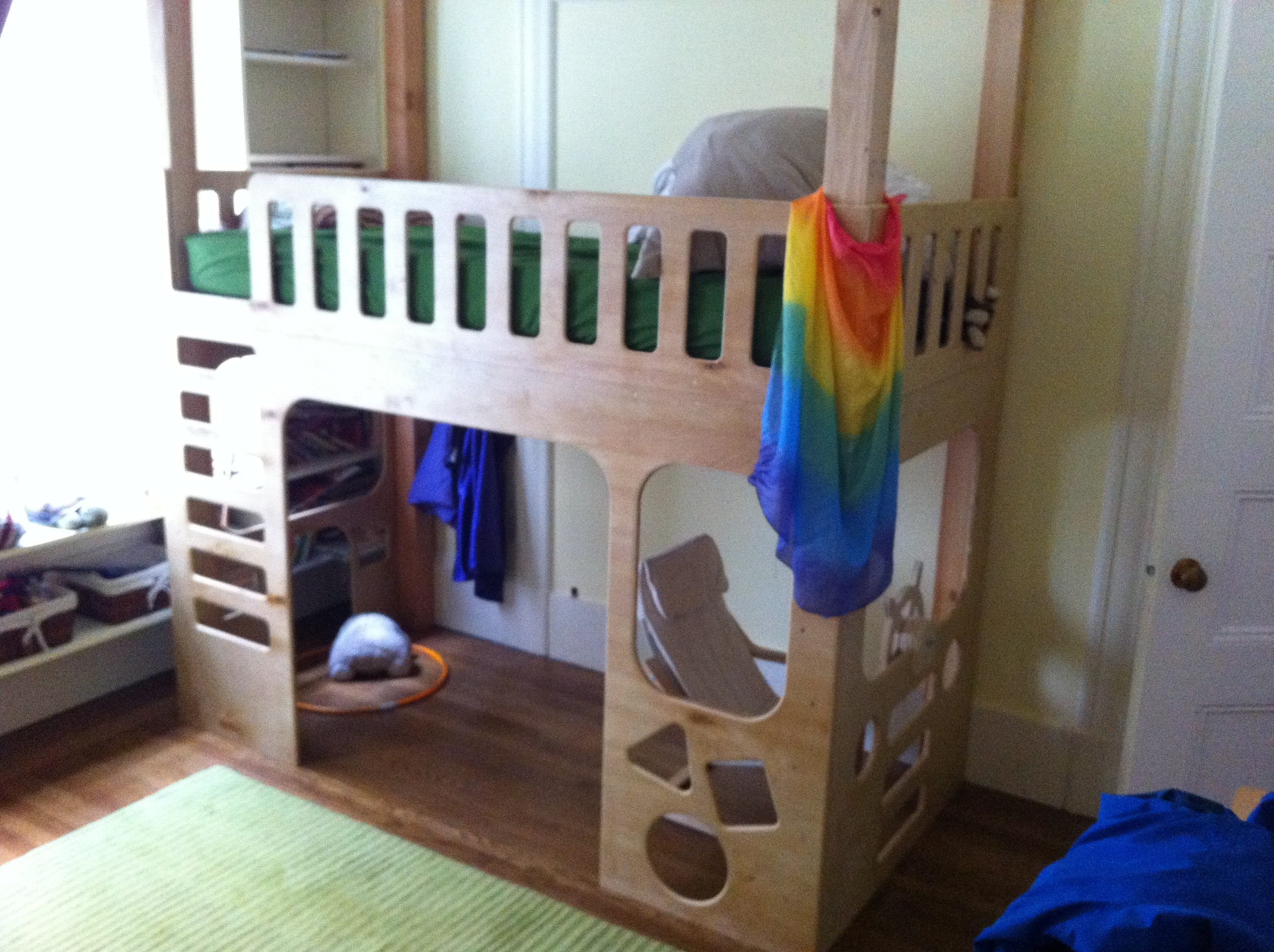 Picture of Pirate Fire Truck Loft Bed