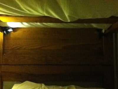 Mount the Speakers on the Sides of Your Bed