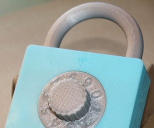 Fully 3D Printed Combination Lock With Changeable Combination
