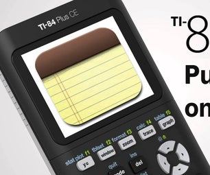 How to Put Notes on a TI-84 Plus Calculator