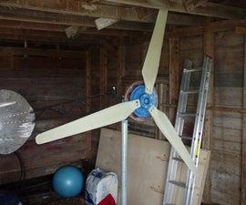 7 Foot Axial Flux Wind Turbine