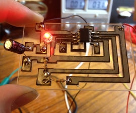 Laser Cut Circuit Boards