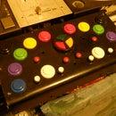 Arcade style DJ MIDI controller