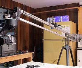 Ball Bearing Jib Arm w/ Motorized Pan & Tilt