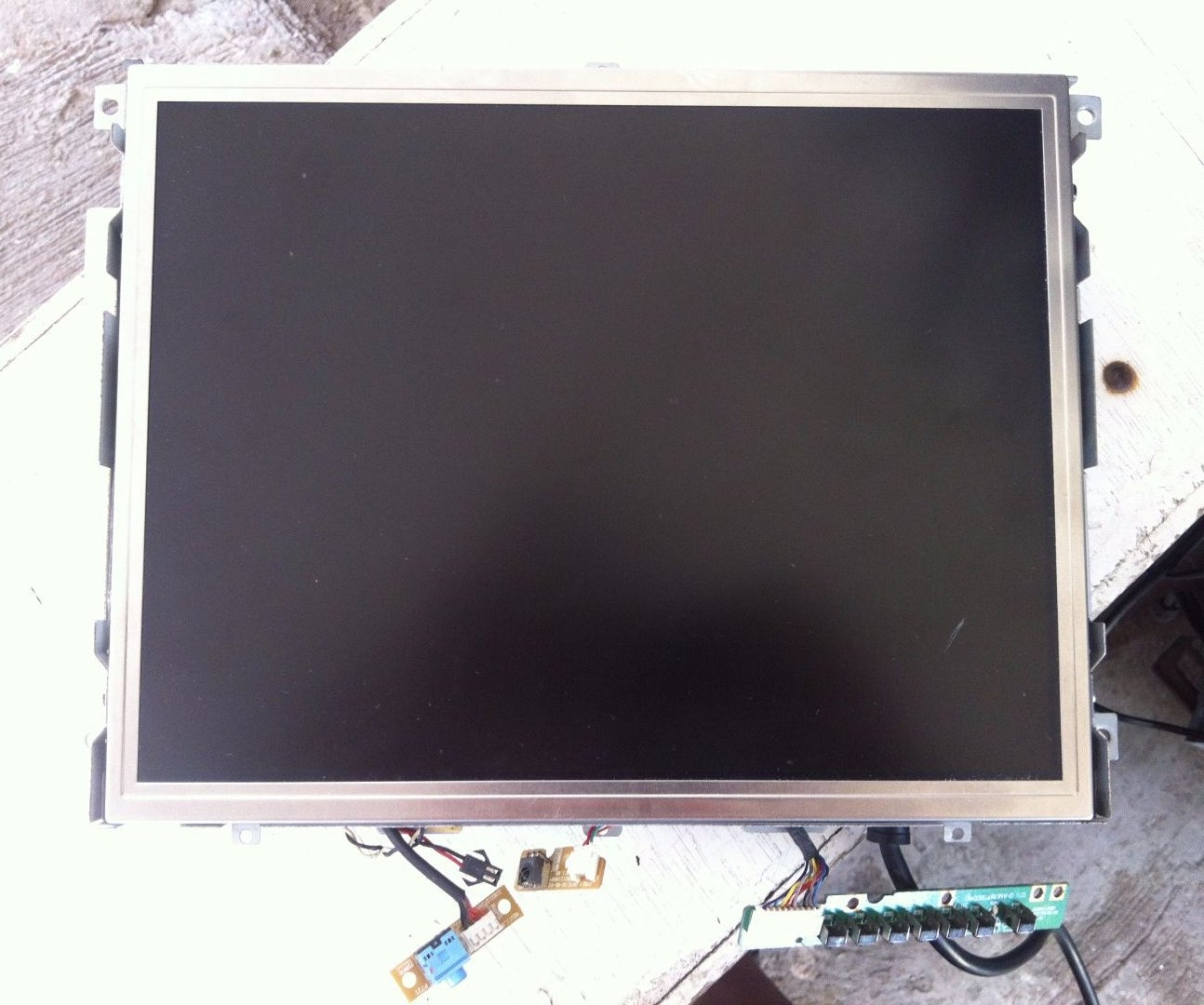 Lcd Tv Backlight Repair From Ccfl To Led 8 Steps With Pictures Circuitboardforlcdledtvtvjpg