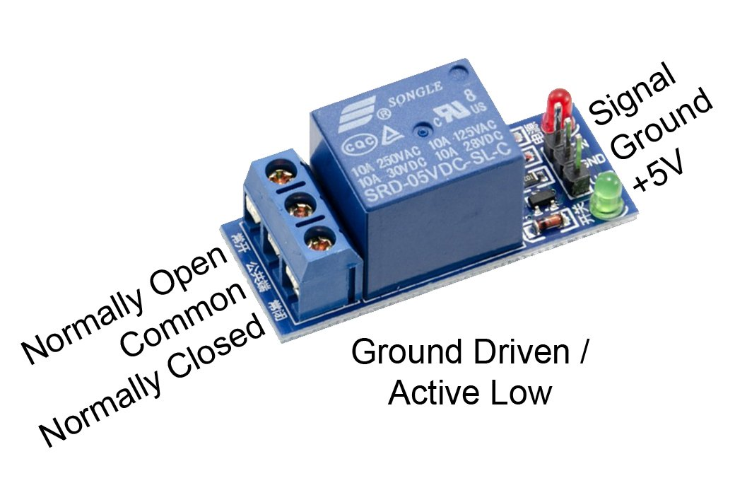Picture of Relay-(to Control High Voltage!)