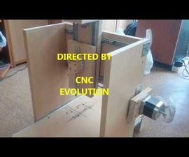 CNC ROUTER HOME MADE