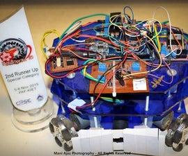 The CHAMPION 4Omni Wheel Soccer Robot !
