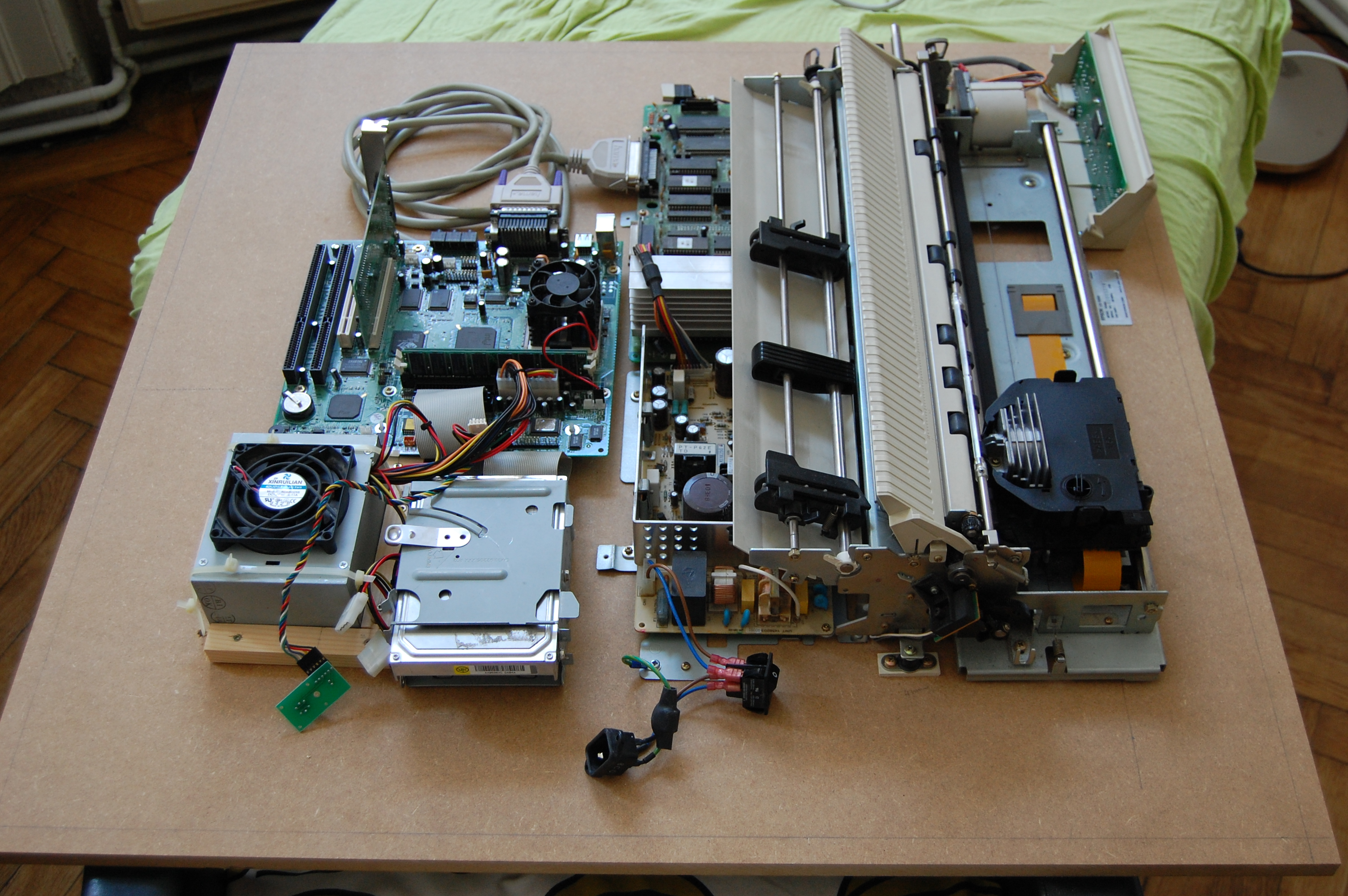Picture of Reassembling and Mounting