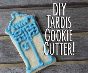 Tardis Cookie Cutter DIY--and Sugar Cookies!