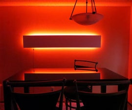 Modern Indirect Multicolored Accent Light