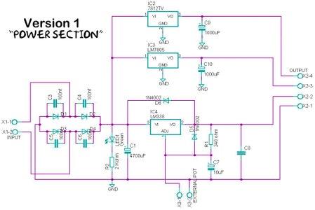 Power Stage Circuit Description