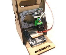 Curiosity 120$ eWaste Educational 3D Printer