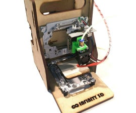 Curiosity 120$ eWaste Educational 3D Printer
