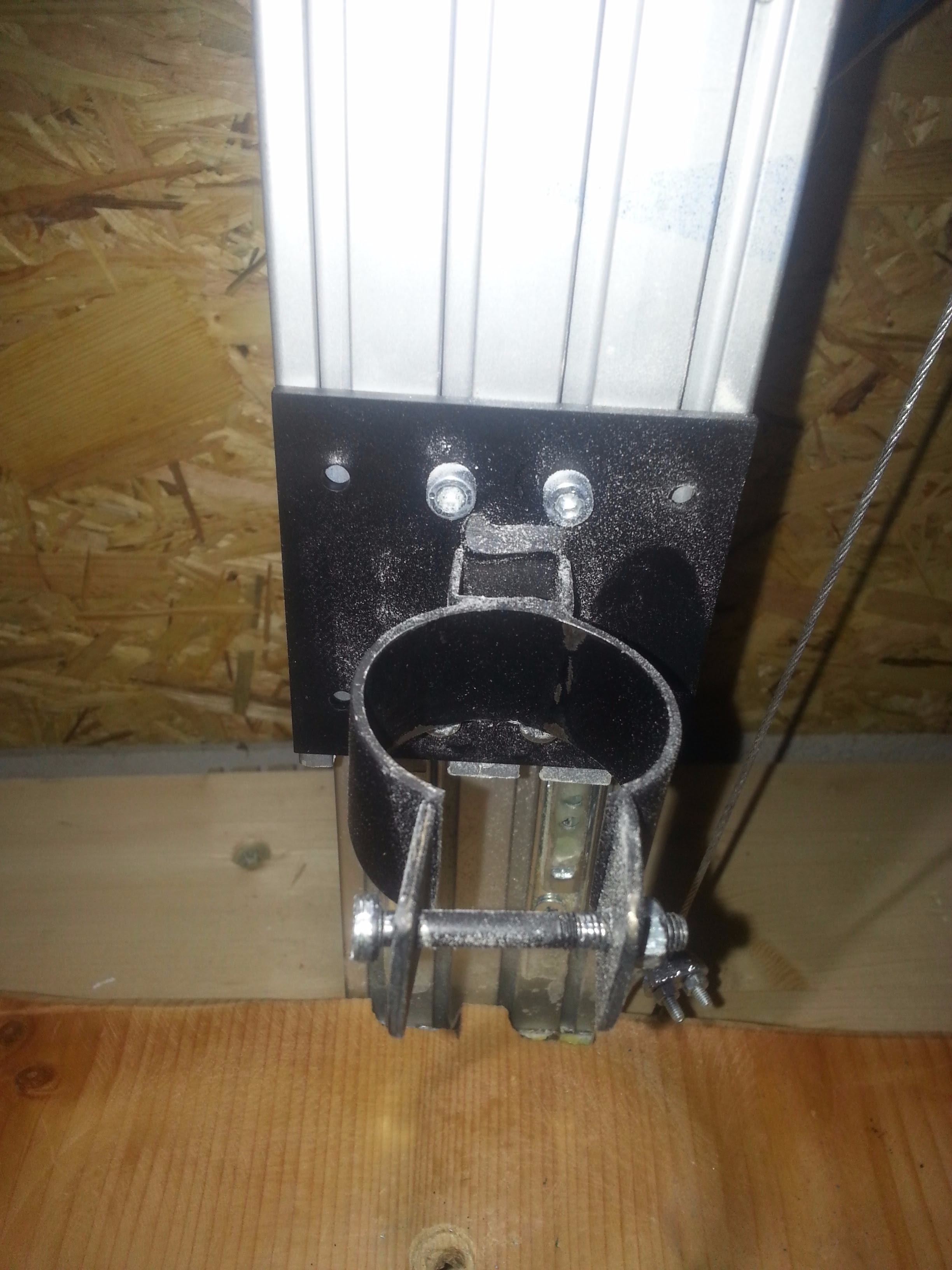 Picture of Lever and Drill Holder