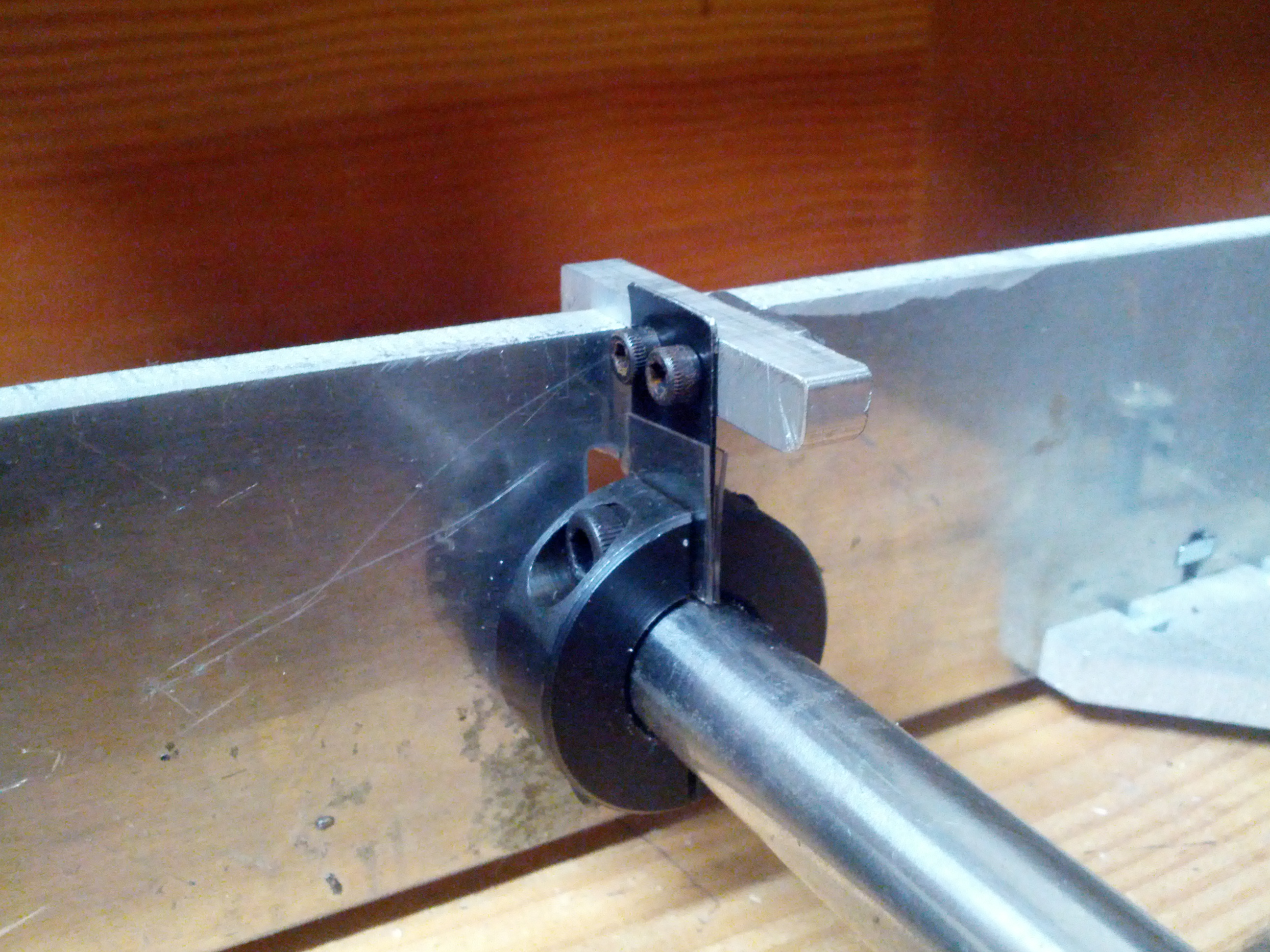 Picture of Make an Easy Flexure for Your Machine