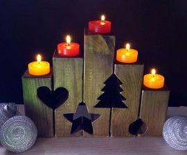 Tea Light Holders For Christmas