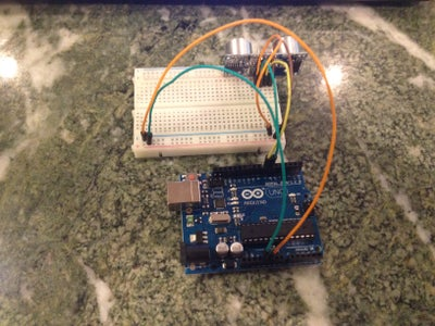 Assembly: Ultrasonic Sensor
