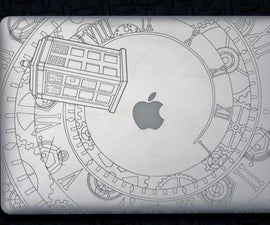 """Template (and instructions) for laser engraving 15"""" Macbook Pro"""